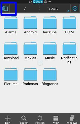 Moto_e_file_manager_manage_files_es_file_explorer_quick_access_button