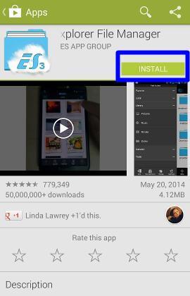 es app locker für android