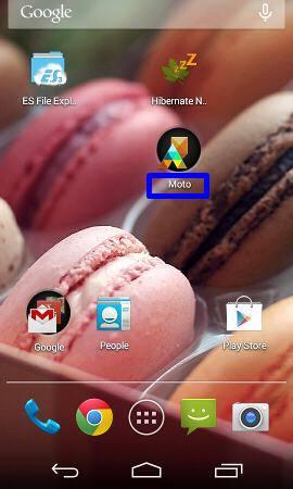 moto_e_create_app_folder_named