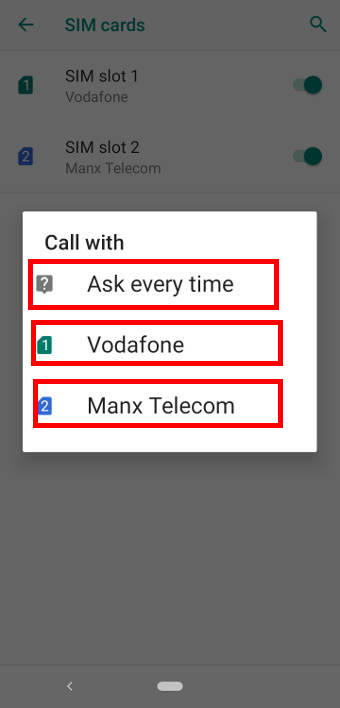 use two SIM cards on the dual SIM version of Moto E6, Moto E6 Plus, Moto E6 Play, and Moto E6s 2020