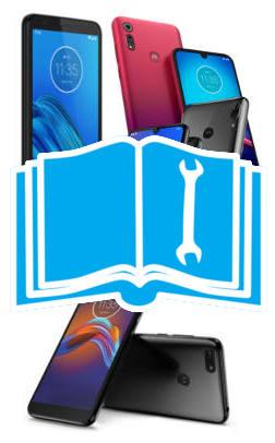 Official user manual for Moto E6, Moto E6 Plus, Moto E6 Play, and Moto E6s
