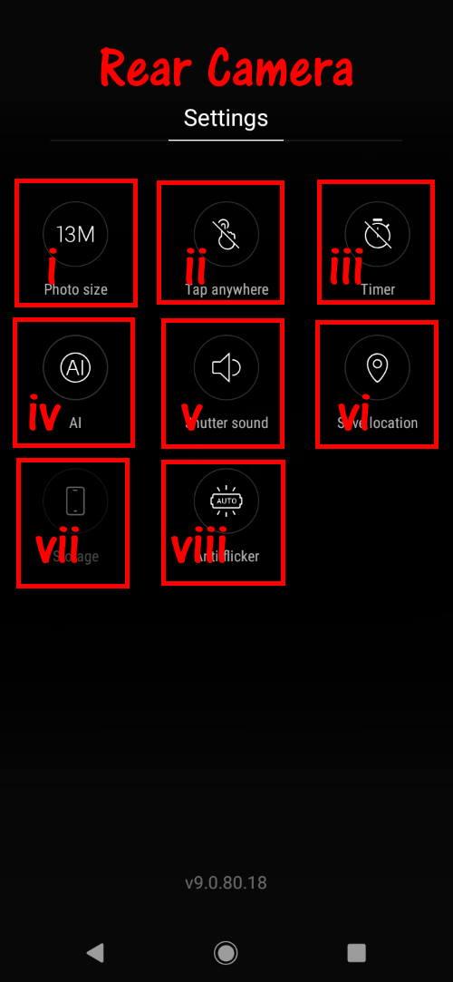 moto_e6_camera-2_rear_camera_settings - Moto E Guide